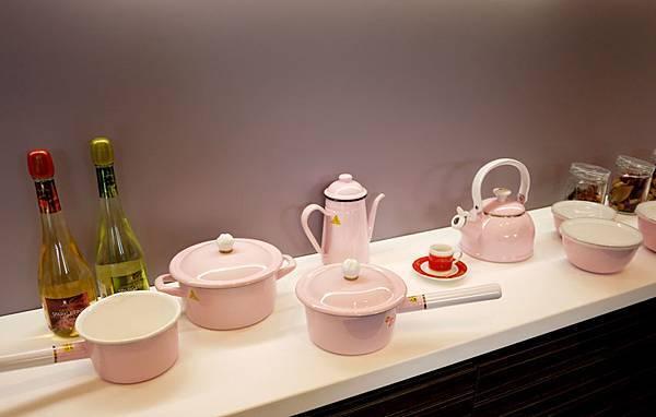 Sakura琺瑯粉紅鍋具