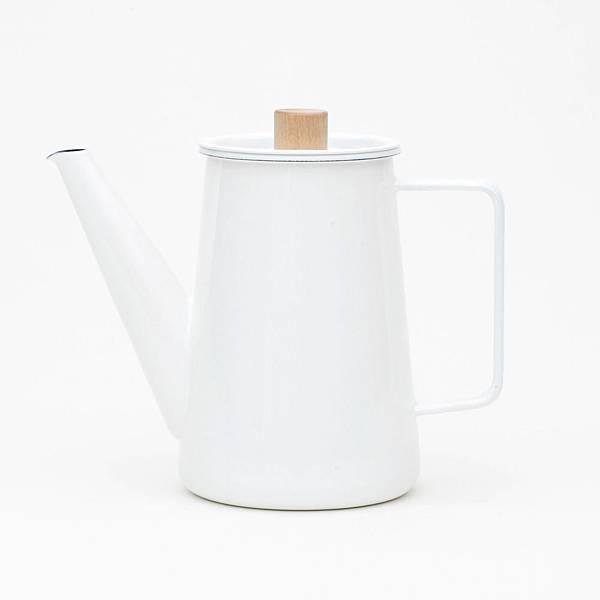 kaico 簡約風琺瑯咖啡手沖壺