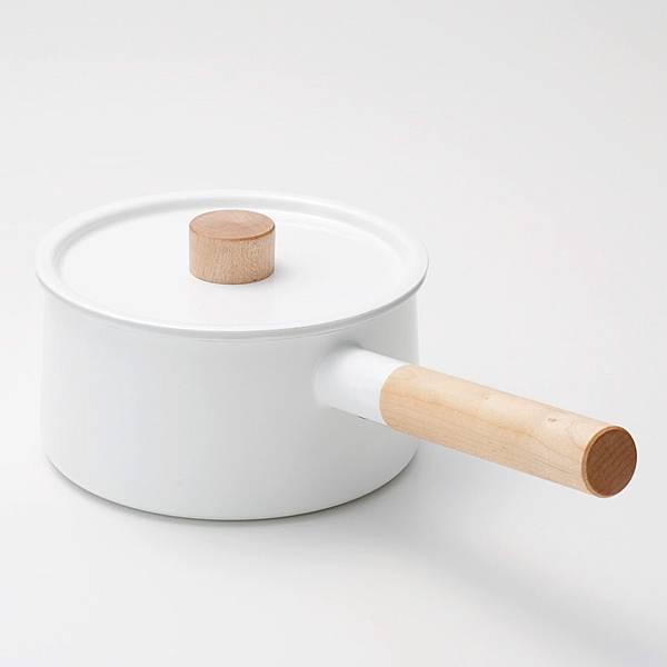 kaico 簡約風琺瑯單耳鍋