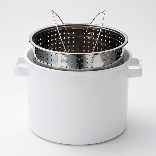 kaico 簡約風琺瑯義大利麵煮鍋-2