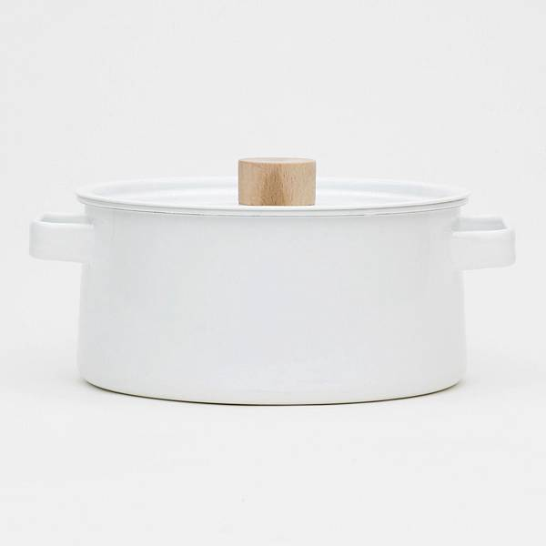 kaico 簡約風琺瑯雙耳鍋