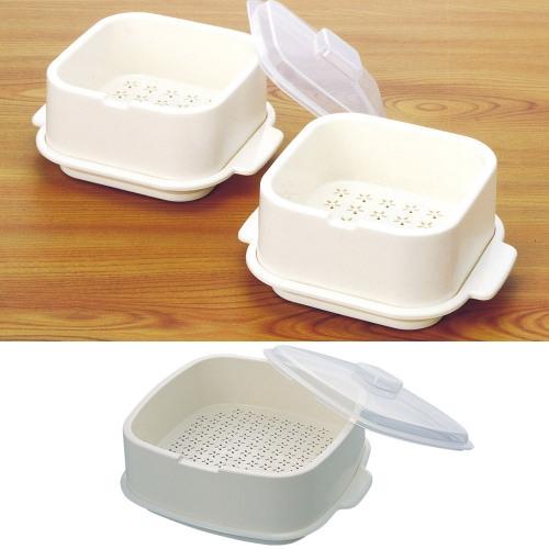 《蒸太郎》雙層蒸籠式微波盒‧大小兩件組3