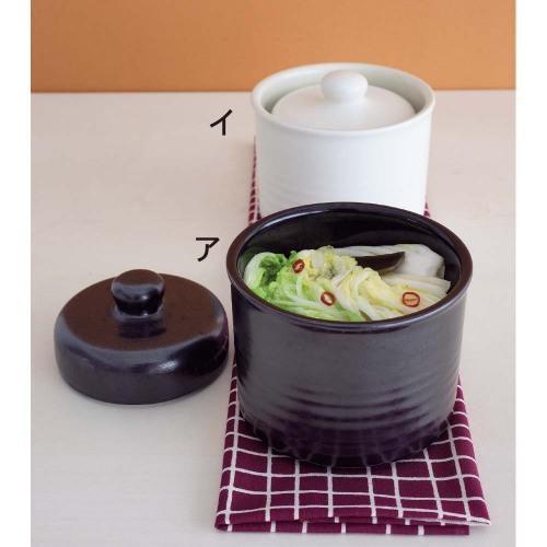 《信樂燒》陶器健康醃漬罐