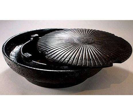 《長谷園伊賀燒》薄型少煙設計‧桌上型燒肉鍋(2-3人份)  (2)