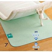 《除濕太郎》竹炭纖維防蹣消臭床墊‧雙人130×180cm