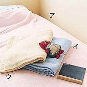 《乾爽舒適》天絲棉紗質被毯・雙人180×210cm (2)