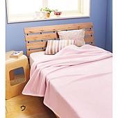 《潤澤觸感》柔軟混絹棉毯‧雙人180×210cm2