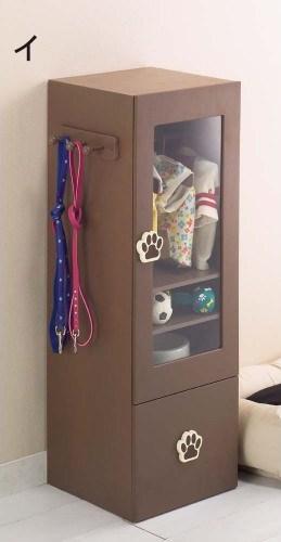《獨家販售》寶貝寵物專用衣櫃‧附木製小衣架 (2)