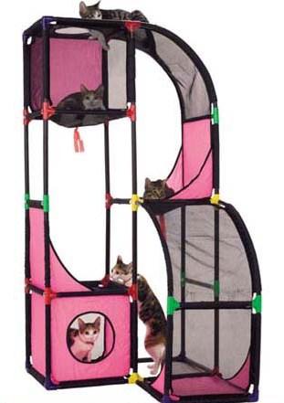 《歡樂貓咪專用》157cm加高型活動架 (2)