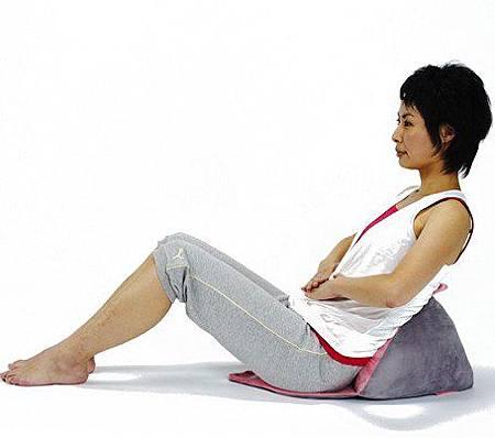 《小腹婆剋星》腹部專用健身座墊 (2)