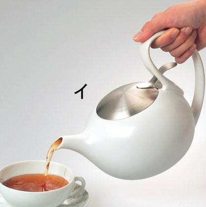 《美國CHANTAL》時尚圓弧造型茶壺 (2)