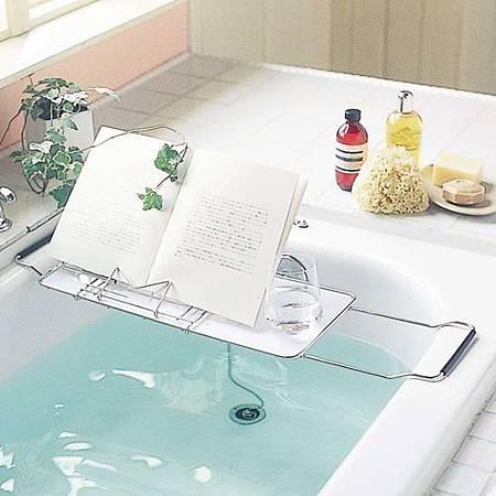 《泡澡時光》舒活浴缸專用置物架