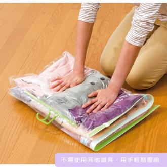 《輕鬆收納》附掛勾衣物壓縮袋 (2)