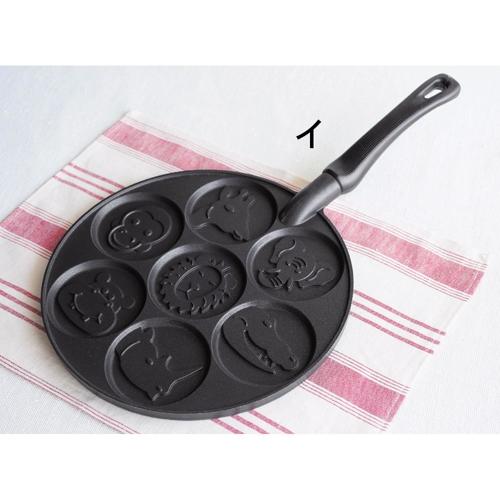 《美國NORDIC WARE》多用途平底鍋型鬆餅鍋‧共三種造型 (2)