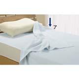 《三井毛織》溫度調節絹質薄被+床墊組‧單人 (2)