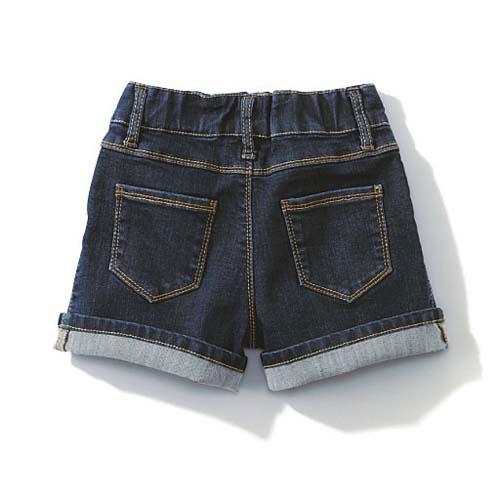cecile童裝---內裏點點伸縮性高牛仔短褲