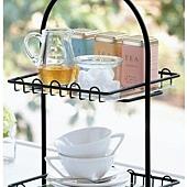 《午茶時刻》兩段式午茶收納架