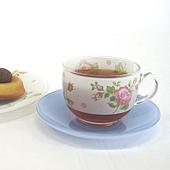 《幸福時光》愛戀法國粉玫瑰茶杯組‧四對組 (2)