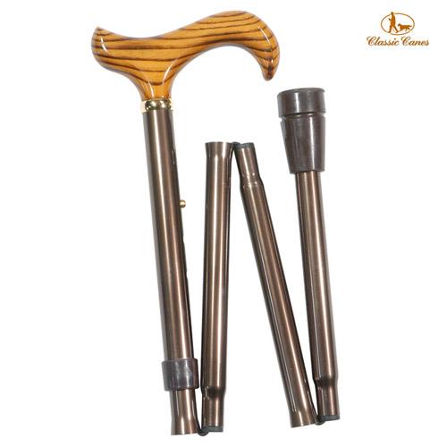 《Classic canes》英國時尚摺疊手杖(4601)‧82-92cm