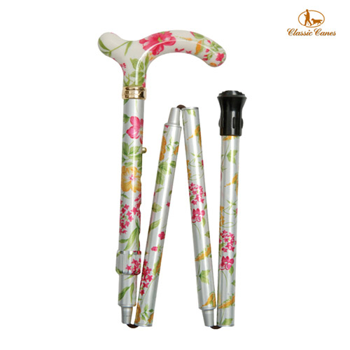 《Classic canes》英國時尚摺疊手杖(4616I)‧77-85cm