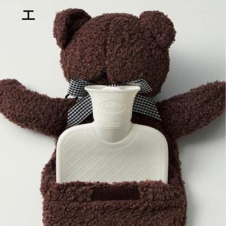 小熊造型熱敷袋