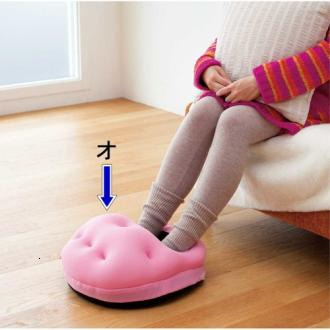 保暖包覆足部保暖枕 (3)