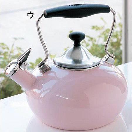 美國CHANTAL-時尚響笛式熱水壺