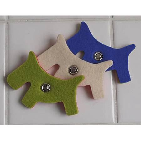 可愛動物造型磁鐵-同款三色組