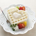 《桃華繪里精選》瓦斯爐用愛心造型鬆餅器  (2)