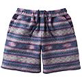 cecile女裝--亮眼彩色民族風格毛料短褲 (2)