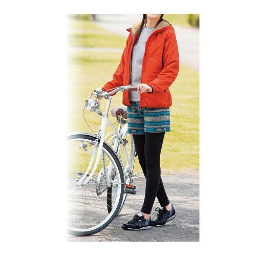 cecile女裝--亮眼彩色民族風格毛料短褲 (3)