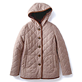 cecile女裝--保暖機能混羊毛連帽舖棉外套 (3)