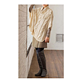 cecile女裝--個性不對稱混羊毛褲裙 (3)