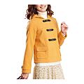 cecile女裝--甜美保暖仿羊毛連帽口袋外套 (4)