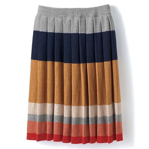 cecile女裝--優雅高級質感百摺短裙