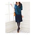 cecile女裝--優雅高級質感百摺短裙 (2)