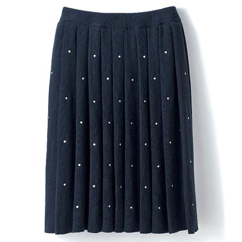 cecile女裝--優雅高級質感百摺短裙 (3)