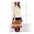 cecile女裝--優雅高級質感百摺短裙 (4)