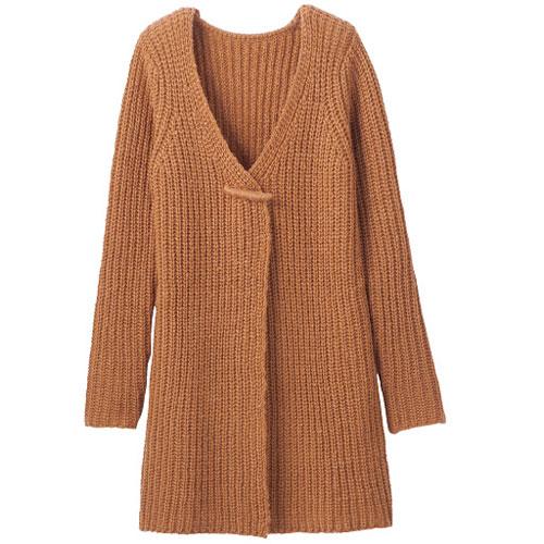 cecile女裝--簡約慵懶針織長版外套 (4)