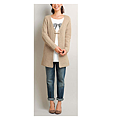 cecile女裝--簡約慵懶針織長版外套 (5)