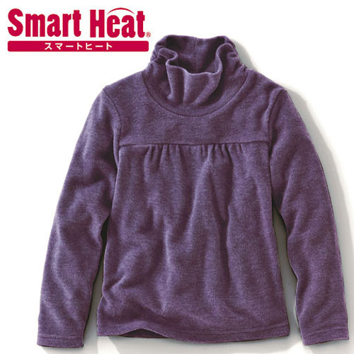 cecile童裝---Smart Heat冬新款加厚多色高領上衣 (2)