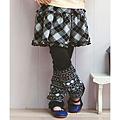 cecile童裝--多層次感條紋內搭褲
