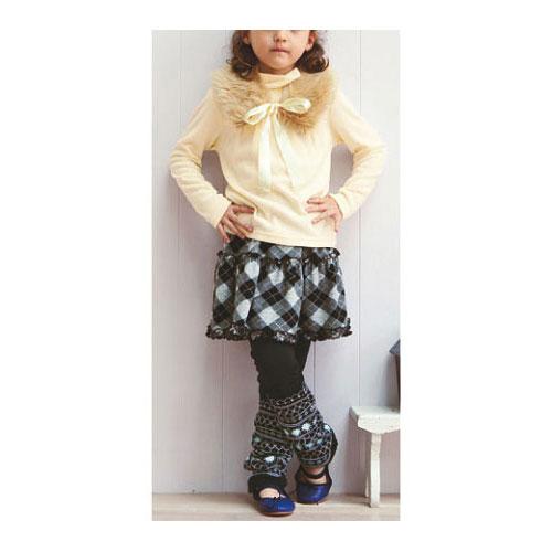 cecile童裝--多層次感條紋內搭褲 (2)