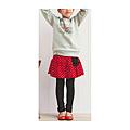 cecile童裝---假二件式點點風褲裙
