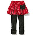 cecile童裝---假二件式點點風褲裙 (2)