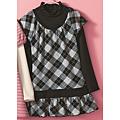 cecile童裝---菱格二件式洋裝 (2)