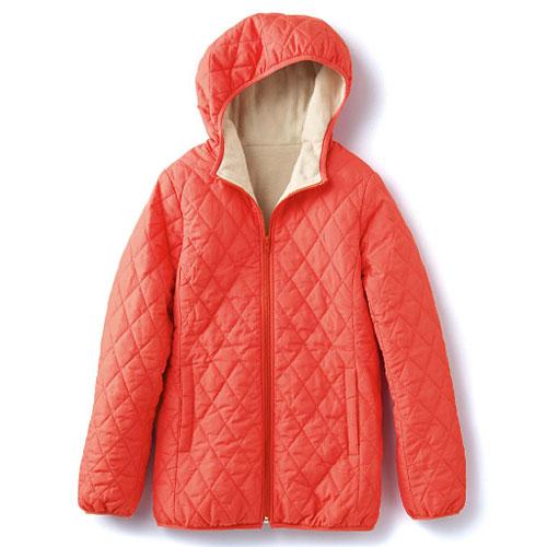 cecile發熱系列---Smart Heat內外雙重加工保暖輕盈連帽外套 (3)