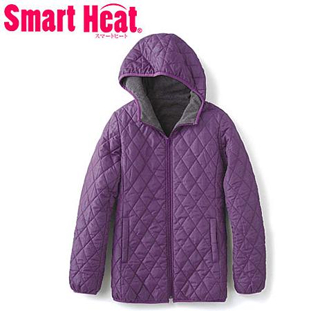 cecile發熱系列---Smart Heat內外雙重加工保暖輕盈連帽外套 (4)