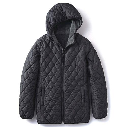cecile發熱系列---Smart Heat內外雙重加工保暖輕盈連帽外套 (5)