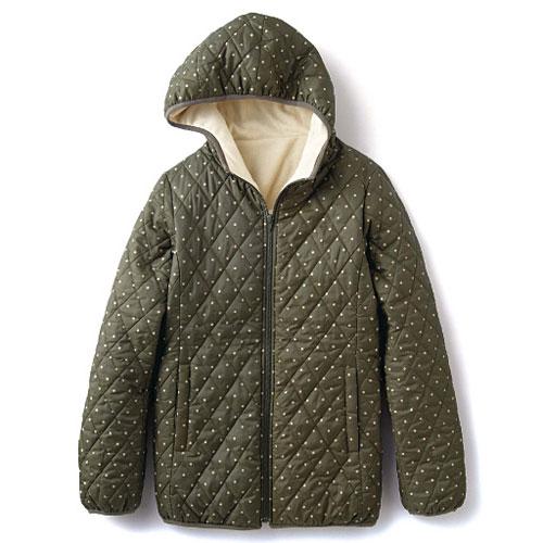 cecile發熱系列---Smart Heat內外雙重加工保暖輕盈連帽外套 (8)